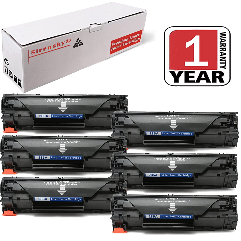 Sirensky Ce285a 85a Toner Cartridge Replacement For Hp Pro M1132 Laserjet P1102 Compatible M1212nf M1214nfh M1217nfw P1102w P1109w