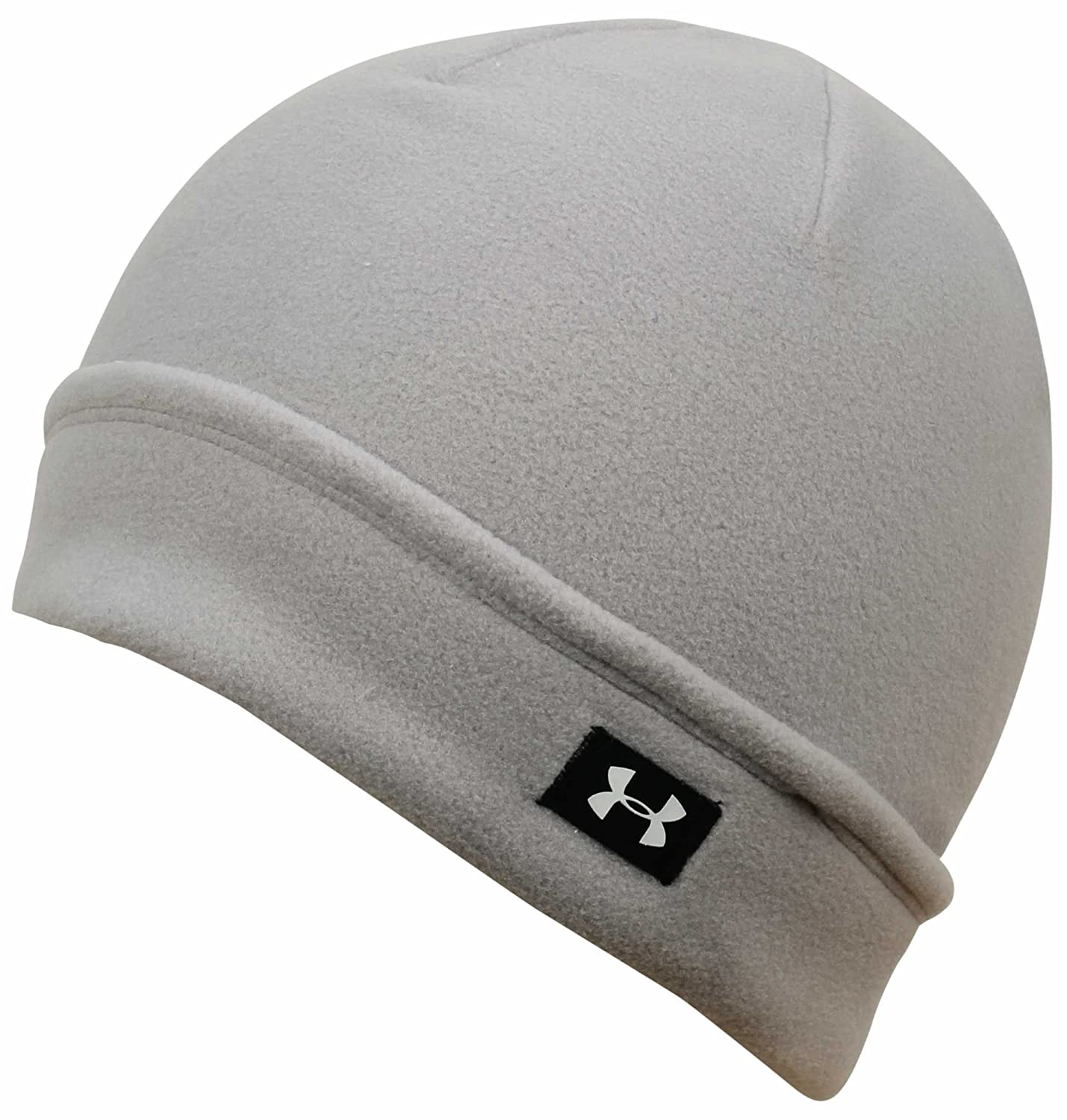 e863c253c90 Amazon.com  Under Armour Cozy Fleece Beanie - Boulder White  Sports    Outdoors