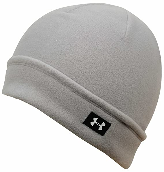 b8cc474b614 Amazon.com  Under Armour Cozy Fleece Beanie - Boulder White  Sports ...
