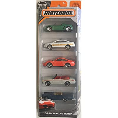 Matchbox 2020 Open Road-Sters 1:64 Scaled 5-Pack: Toys & Games