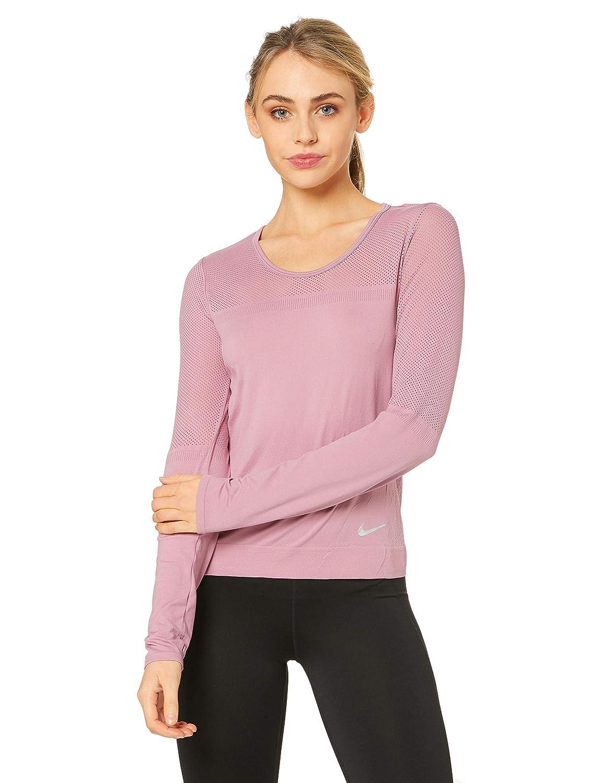 Nike Damen W Nk Infinite Top Ls Long Sleeved T Shirt: Amazon