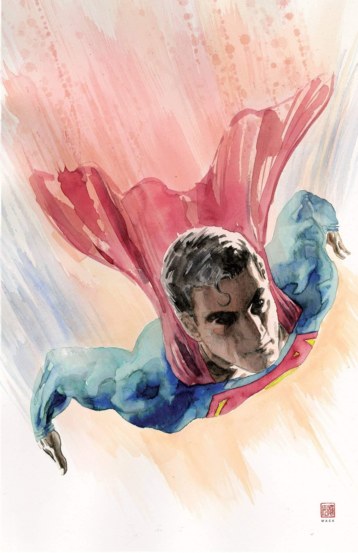 DC Comics Superman #2 2018 Mack Variant NEW