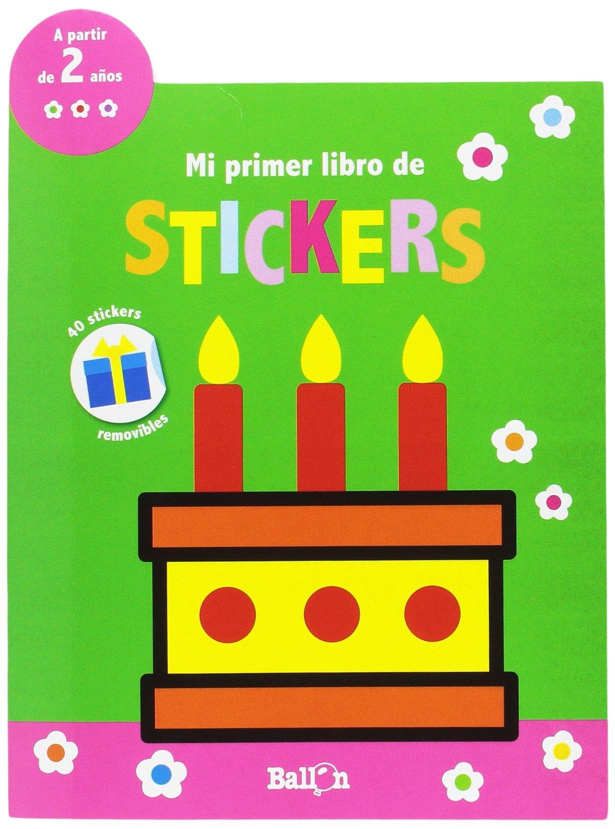 Amazon.com: Mi primer libro de stickers - Cumpleaños ...