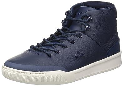 633a1e76dd Lacoste Explorateur Classic 317 1, Baskets Hautes Homme, Bleu (NVY), 44.5