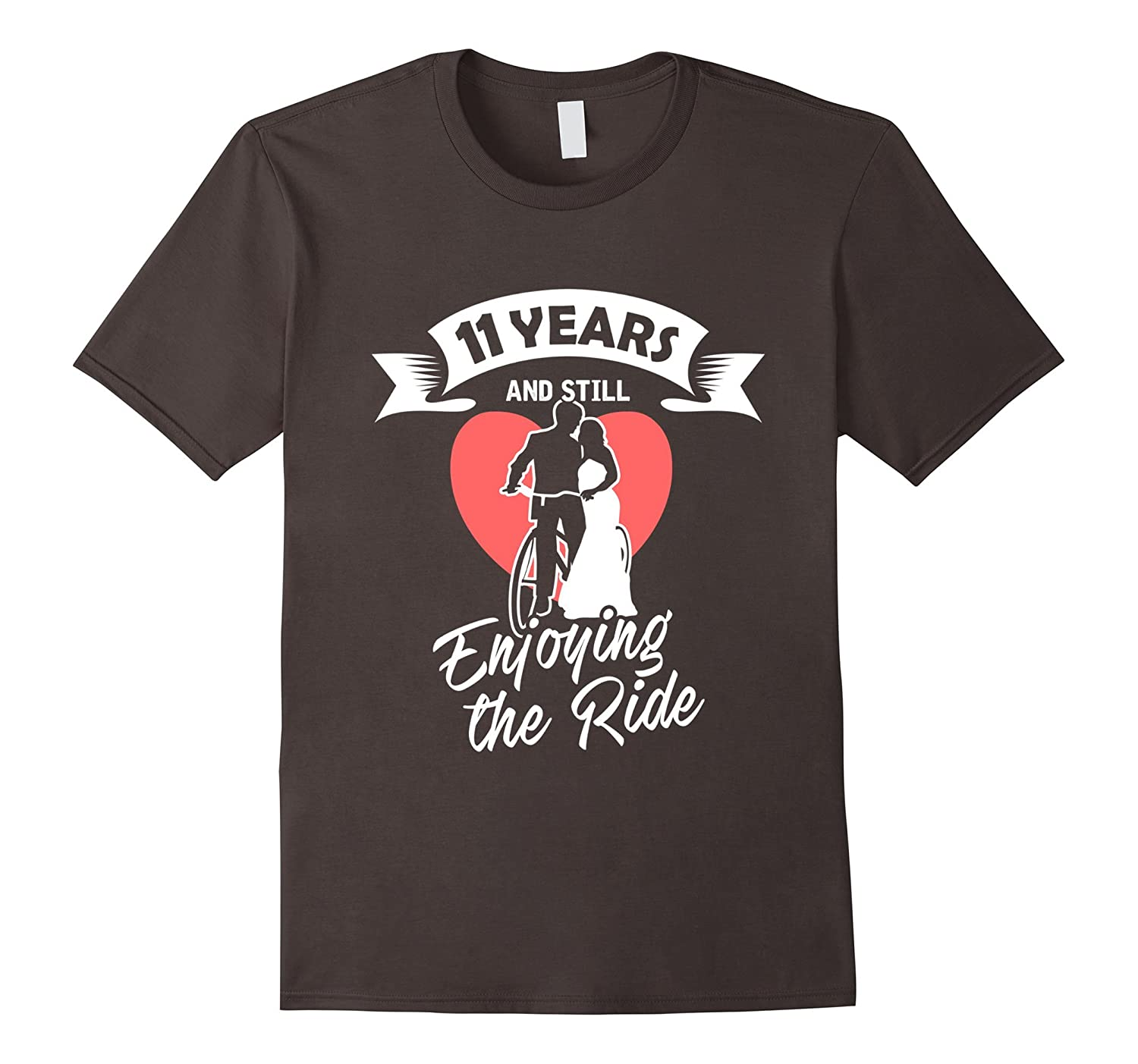 11th Wedding Anniversary T-Shirt Gift - Perfect Couple Tee-PL