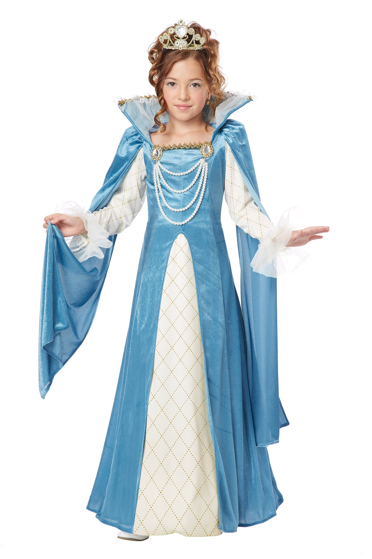 California Costumes Renaissance Queen Child Costume, Small by California Costumes