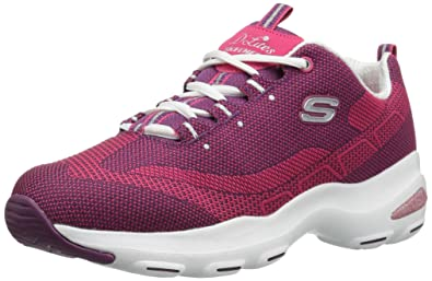 skechers d lites purple