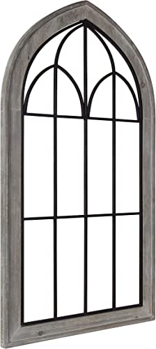 Kate and Laurel Rennell Rustic Windowpane Wall Plaque