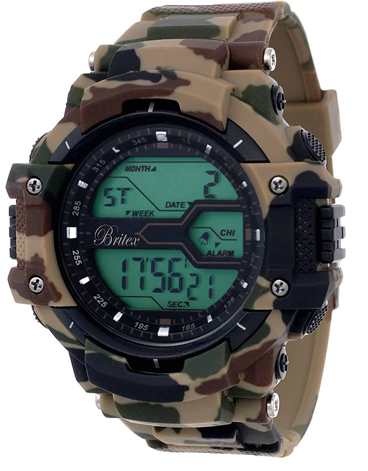 Britex Day and Date Function Digital Sports Watch For Men / Boys - BT6190