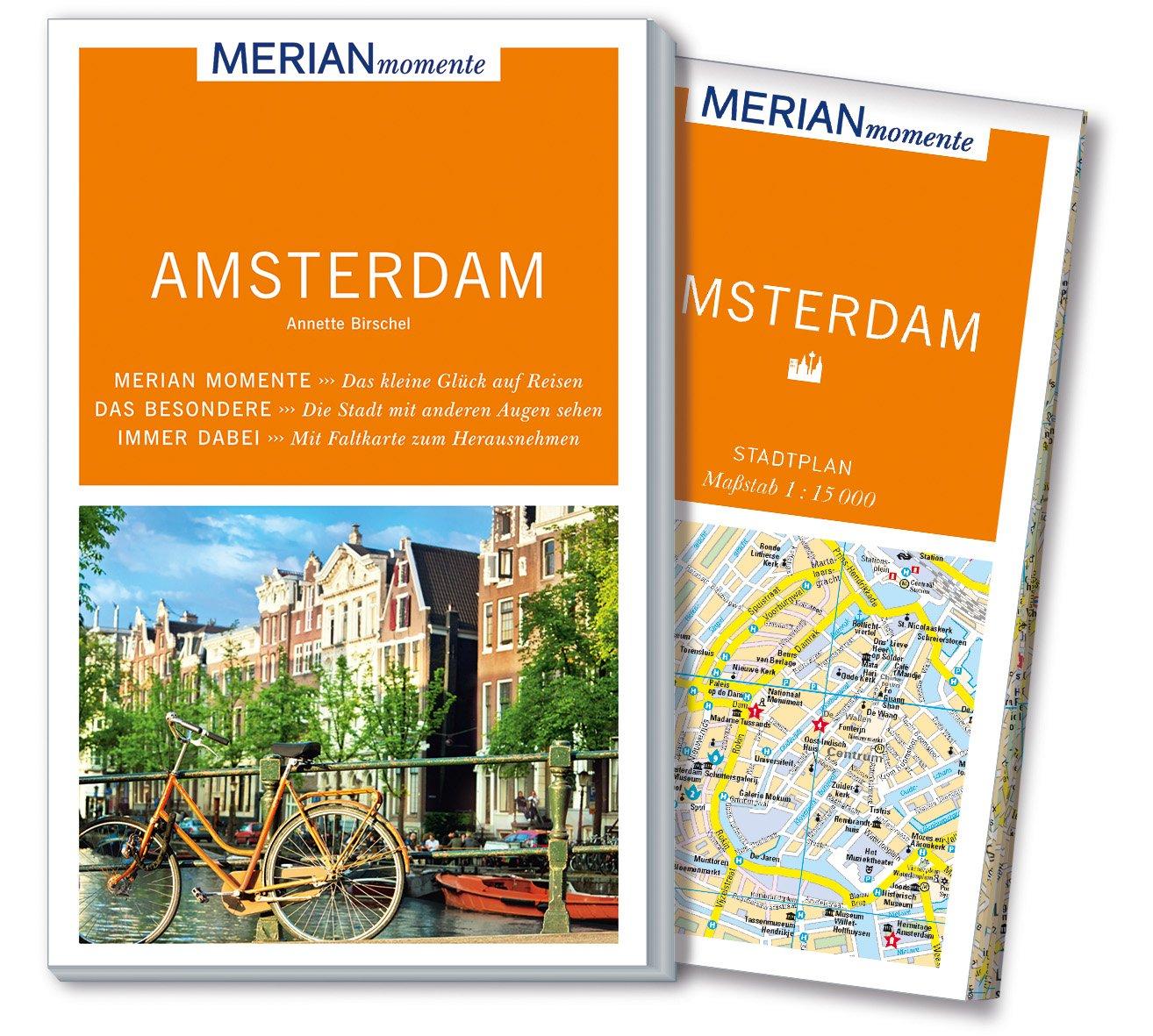 Merian Momente Reisefuhrer Amsterdam Mit Extra Karte Zum