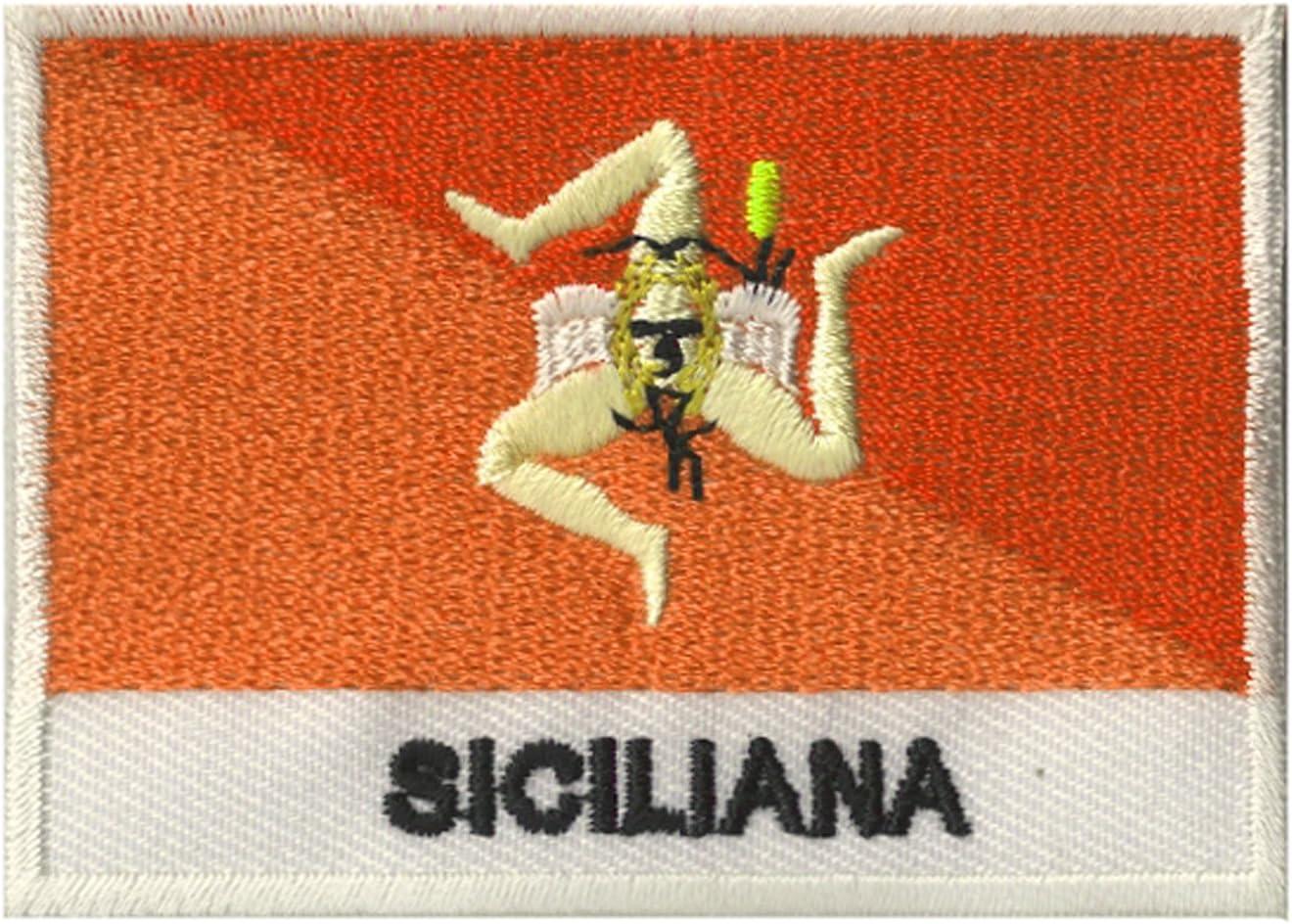 NagaPatches Patche Drapeau Sicile