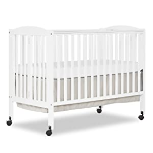 Dream On Me Full Size 2 Position Folding Stationary Side Crib