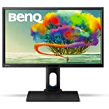 BenQ BL2420PT 24 inch QHD Designer Monitor (1440p, 100% sRGB, Rec 709, Height Adjustment, CAD/CAM and Animation Mode, VGA/DVI-DL/DP1.2/HDMI) - Black