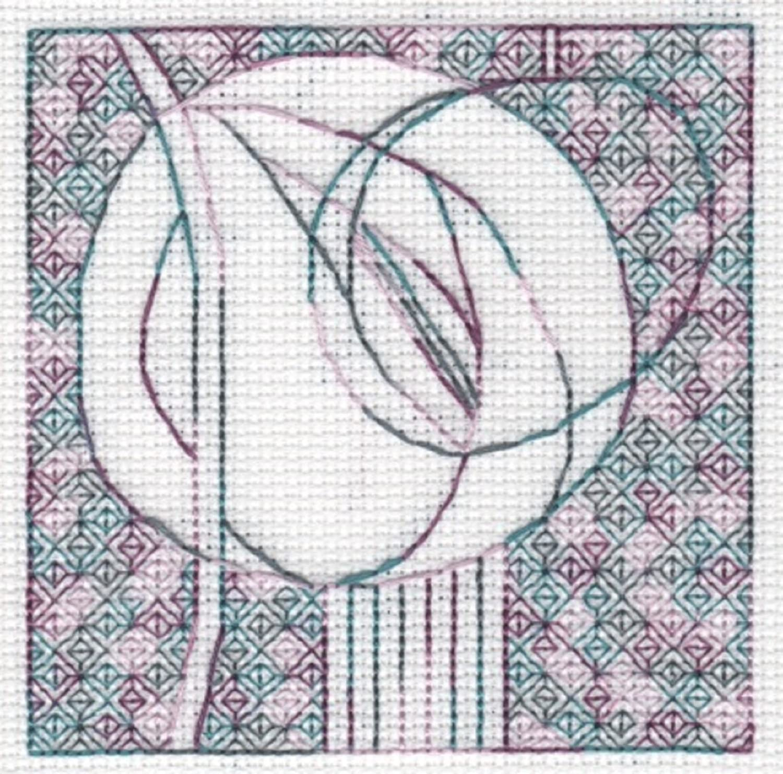 Introduction to Blackwork kit no.1-3 designs to stitch DoodleCraft