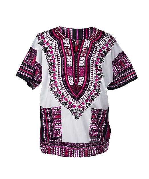 13e5f72dc7a Amazon.com  Lofbaz Traditional African Unisex Dashiki Shirt color Tribal  Festival Hippie  Clothing