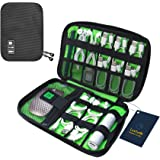 Luxtude Electronic Organizer, Compact Cable Organizer, Portable Cord Organizer, Travel Organizer Bag for Cable Storage, Cord