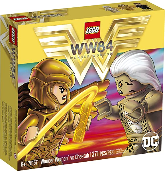 LEGO DC Wonder Woman vs. Cheetah building construction set toy for kids in package