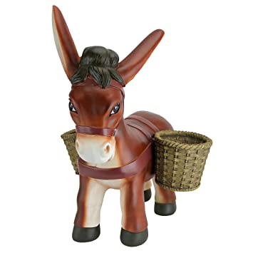 Design Toscano Pancho The Burro Planter Sculpture