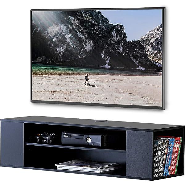 Meliconi Space LCD M - Mesa para TV con plato giratorio, color negro: Amazon.es: Electrónica