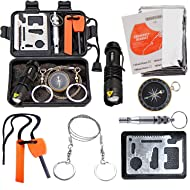 b42b7419616d EMDMAK Survival Kit Outdoor Emergency Gear Kit Camping Hiking Travelling  Adventures
