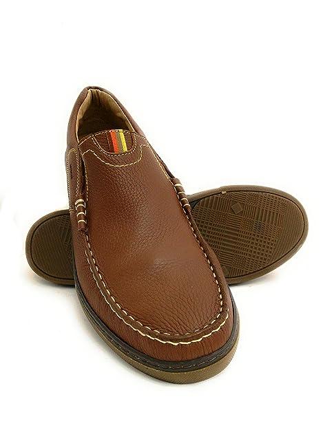 Zerimar Zapato Náutico de Piel para Hombre Tallas Grandes Náutico para Hombre: Amazon.es: Zapatos y complementos