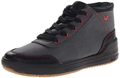 MOZO Men's The Natural Canvas Slip Resistant Comfort Lace-Up Sneaker