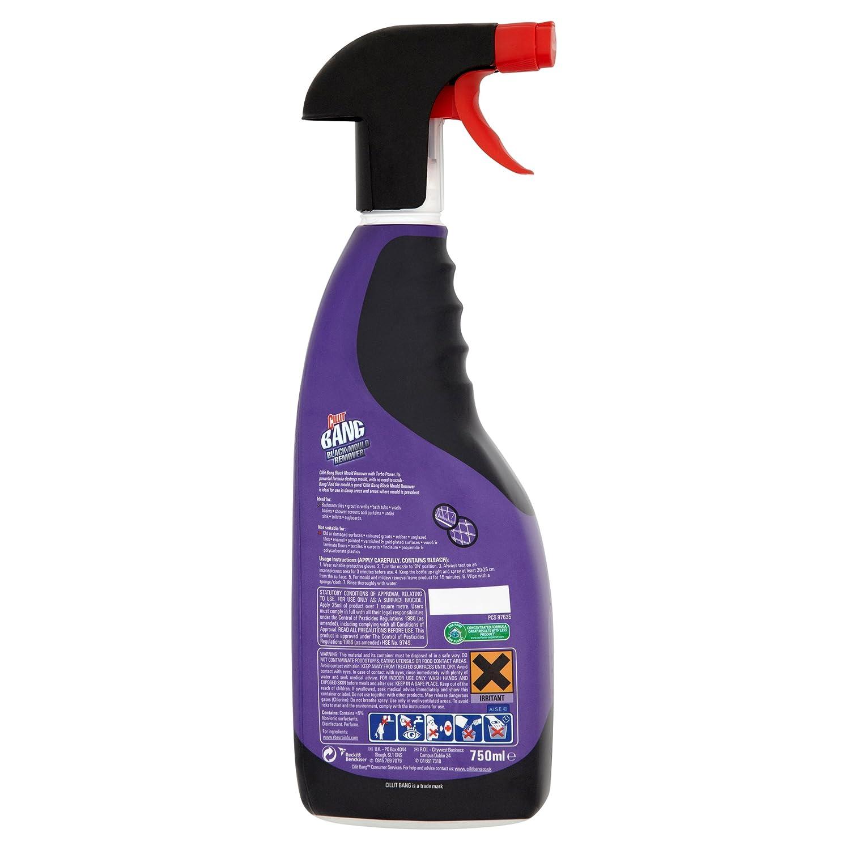 Limpiador de 6 x Cillit-Bang Poder Negro Removedor del molde 750ML: Amazon.es: Hogar