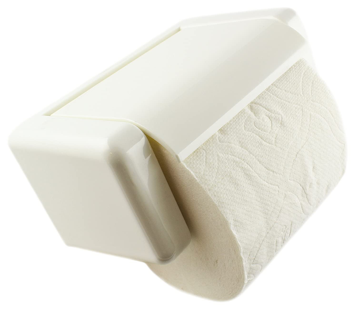 Zoie + Chloe Easy-Snap Toilet Paper Holder - Load and Unload with One Hand