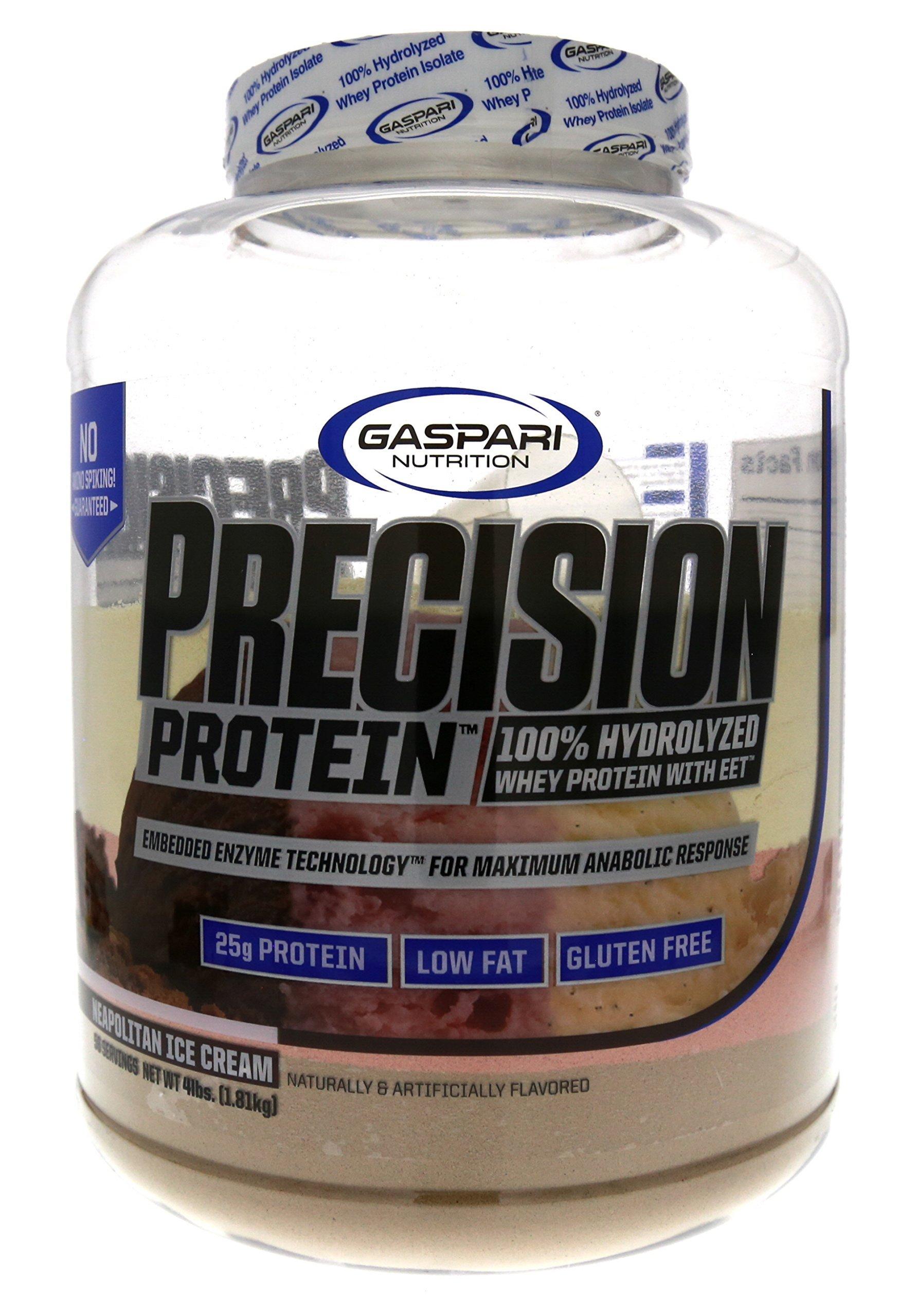 Gaspari Nutrition Precision Protein Neapolitan, 4 Pound