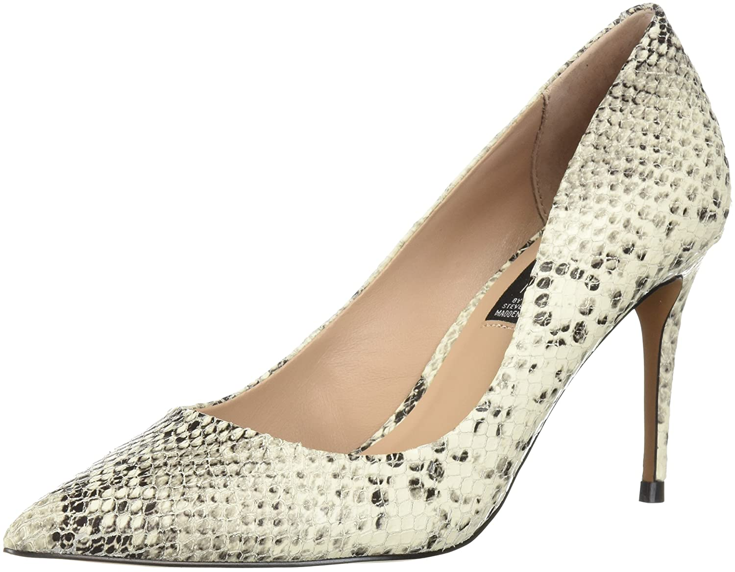 STEVEN by Steve Madden Women's Local Pump B077HTHJDC 9.5 B(M) US|White/Multi