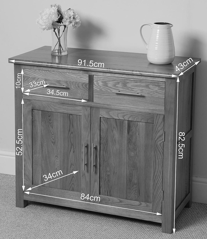 sideboard hhe 80 cm amazing devon drawer glass door sideboard cupboard storage shabby chic. Black Bedroom Furniture Sets. Home Design Ideas