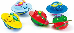 Zoggs Children's Safe Water Toys 5 Seal Flips For Aged Up, Fun Pool Game -