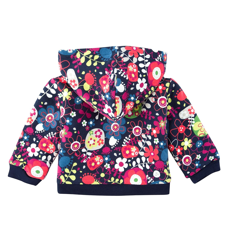 Boboli Baby-M/ädchen Trainingsjacke Fleece Jacket Stretch Girl