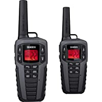 Uniden SX507-2CKHS Up to 37 Mile Range FRS Two-Way Radio Walkie Talkies W/Dual Charging Cradle, Waterproof, Floats, 22 Channels, 142 Privacy Codes, NOAA Weather Scan + Alert, Includes 2 Headsets