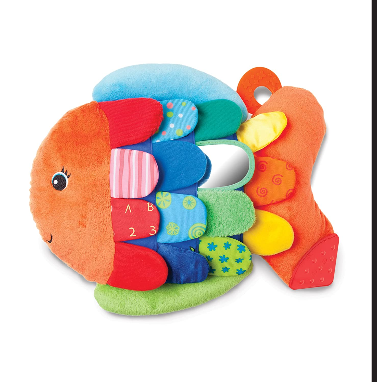 Melissa & Doug Flip Fish Soft Baby Toy 9195
