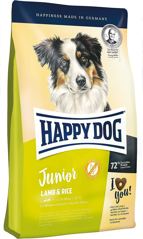 Happy Dog Junior Lamb and Rice Comida para Perros - 4000 gr