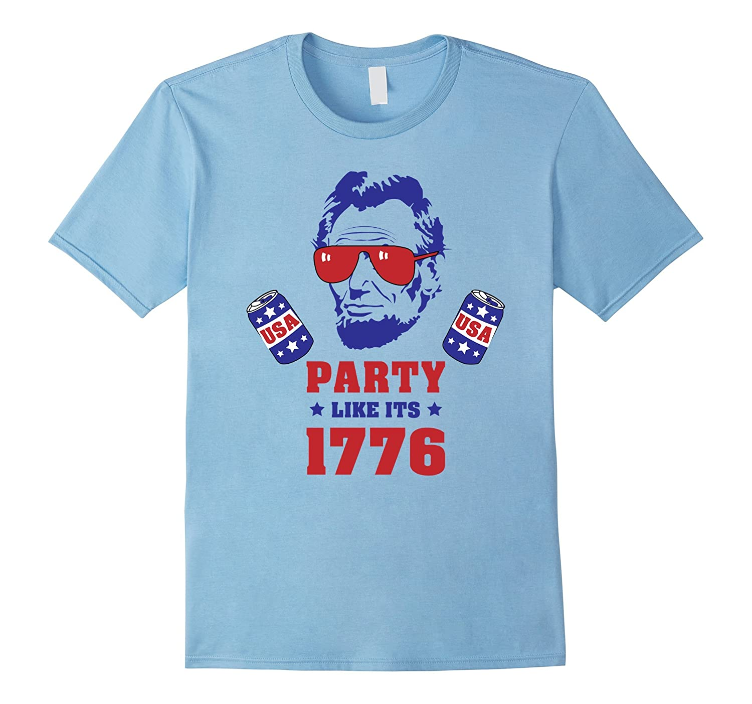 4th of July Shirt Funny Presidents Patriotic Shirt-PL