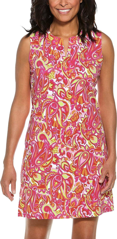 500 Vintage Style Dresses for Sale Womens Oceanside Tank Dress - Sun Protective Coolibar UPF 50+  $89.00 AT vintagedancer.com