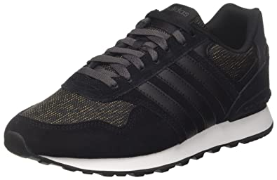 pretty nice 4d4b5 c05b3 adidas 10K Baskets Basses Homme, Noir Core BlackFootwear White, 40 EU