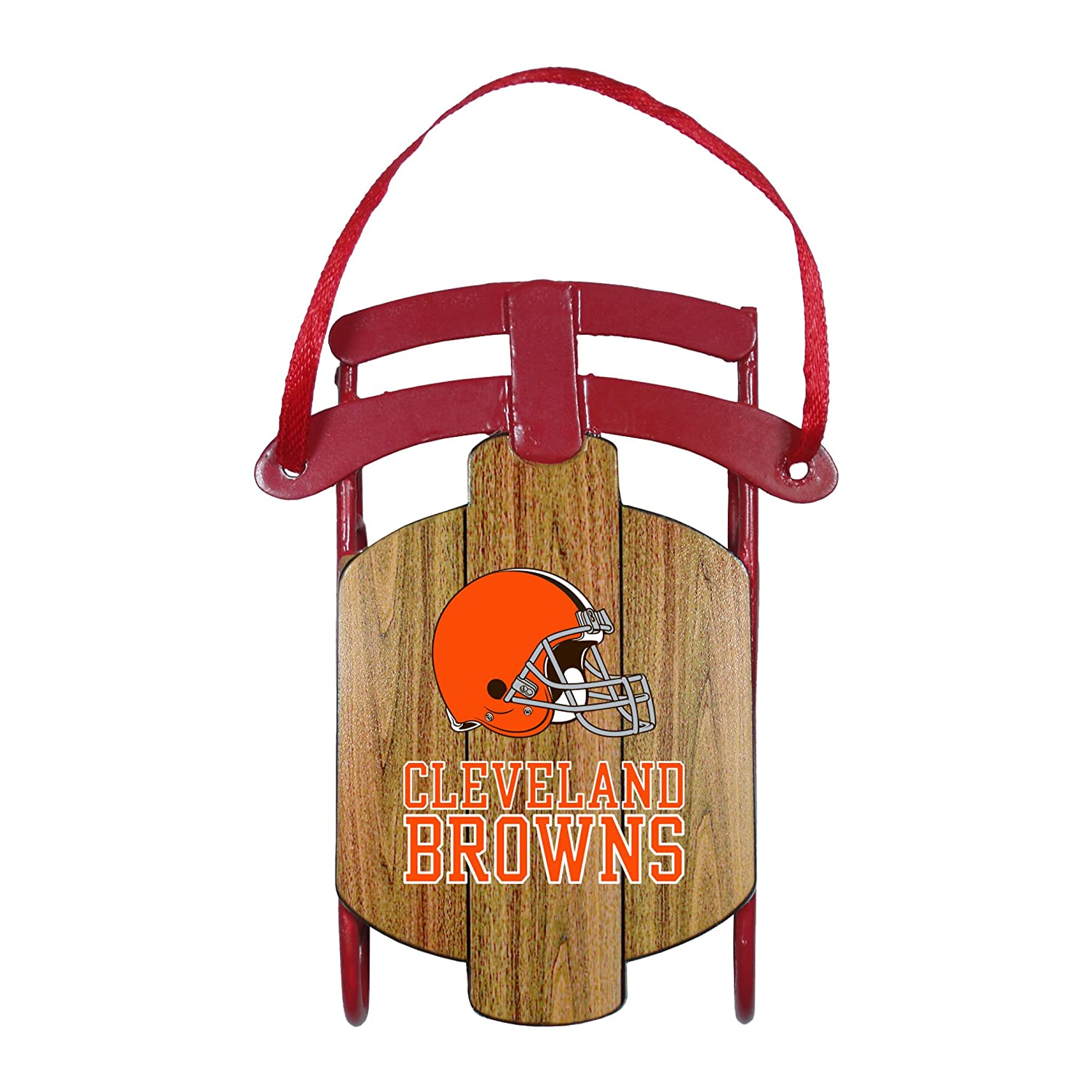 NFL Cleveland Browns Sled Ornament