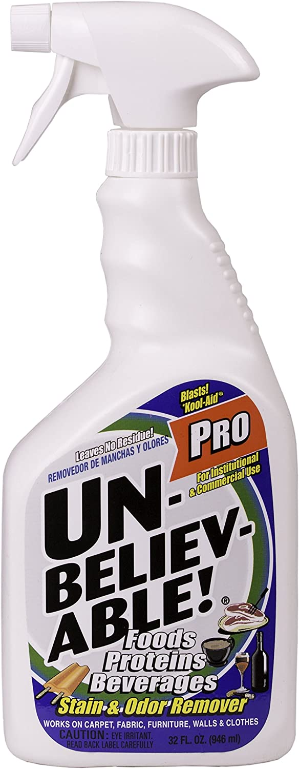 UNBELEIVABLE! PRO STAIN & ODOR REMOVER