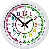 Horloge pour enfants EasyRead Time Teacher, avec système d'enseignement en 3 étapes d'une grande simplicité et cadran de 29 cm, afin que les enfants âgés de 5 à 12 ans apprennent à lire l'heure