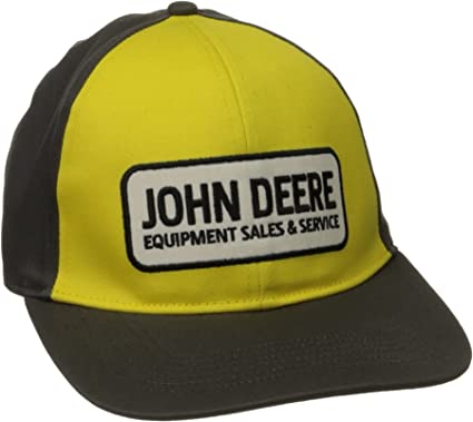 John Deere Mens Strech Band Cap Patch Logo: Amazon.es: Ropa y ...