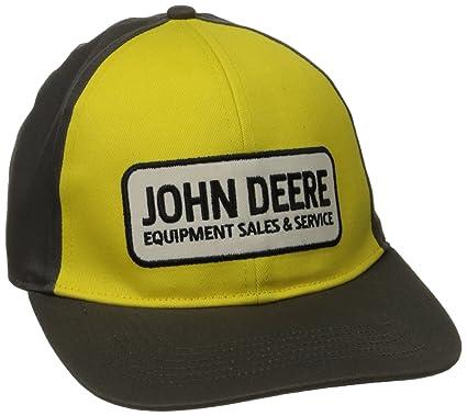 John Deere Hombres Gorra de béisbol - Amarillo -: Amazon.es: Ropa y accesorios