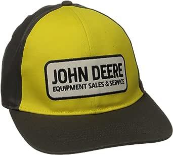 John Deere Mens Strech Band Cap Patch Logo: Amazon.es: Ropa y ...