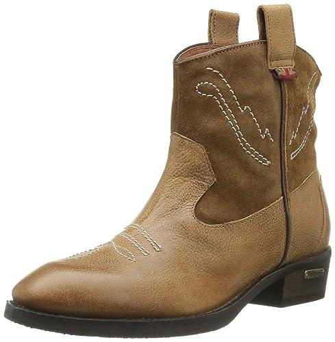 Color Jeans Marrón Selby Pepe De Zapatos Pfs50334 Para Mujer Piel Ox1wHAq