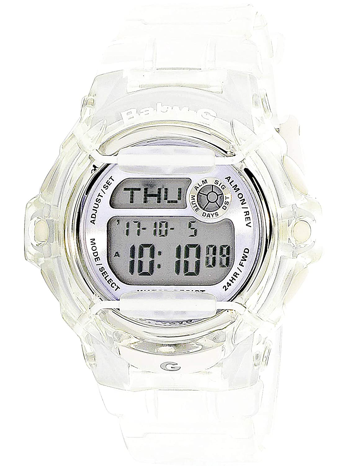 d0f237ee2 Amazon.com: Casio Baby-G BG169R-7E Semi-Transparent Women's Sports Watch  (Purple/Clear): Casio - Baby-G: Watches