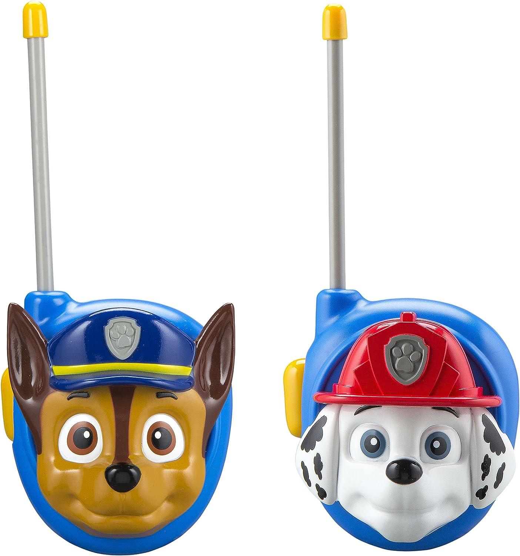 Paw Patrol New Walkie Talkies - Set of 2 Kids Walkie Talkies Chase and Marshall   Excellent Walkie Talkies for Toddlers
