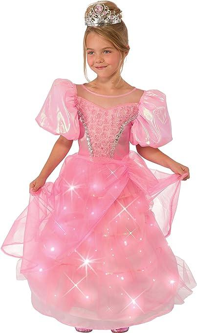 Halloween Costume Rubies 7458 Lite-Up Pink Princess Tiara