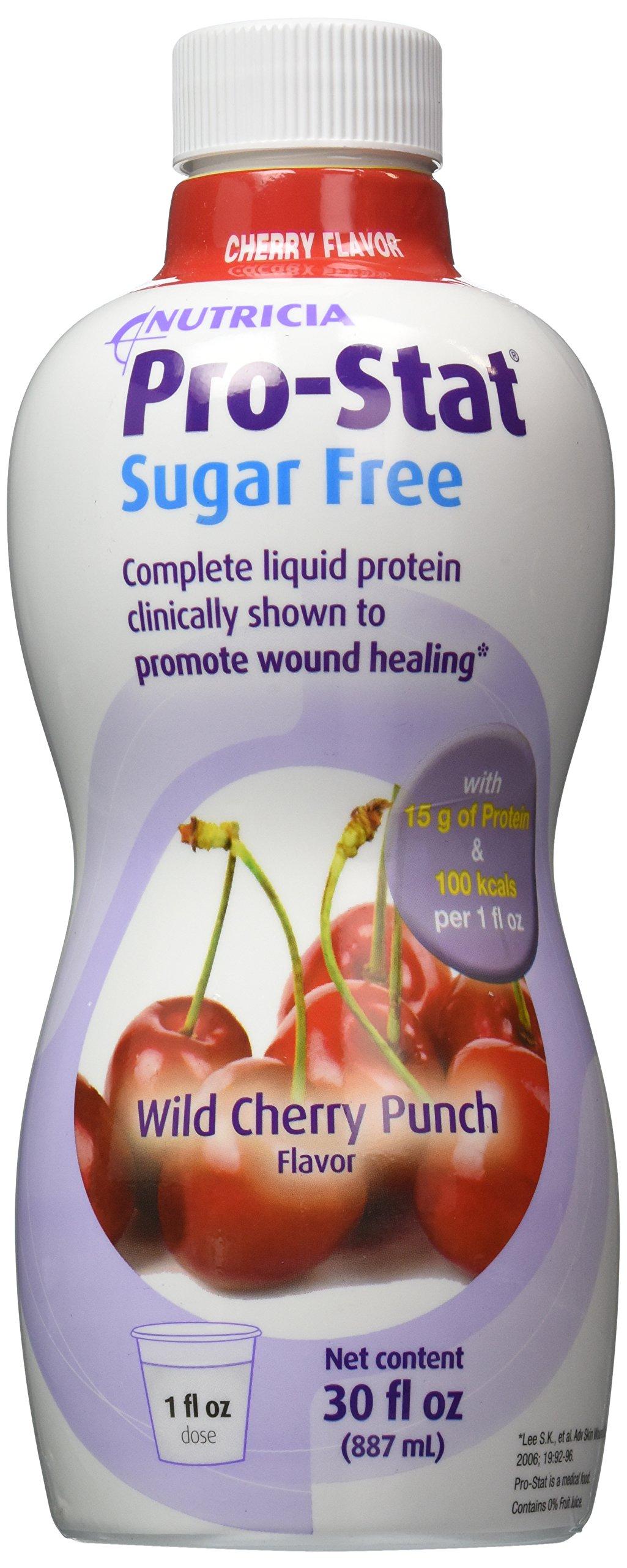 Protein Supplement Pro-Stat Sugar Free Wild Cherry Punch 30 Oz